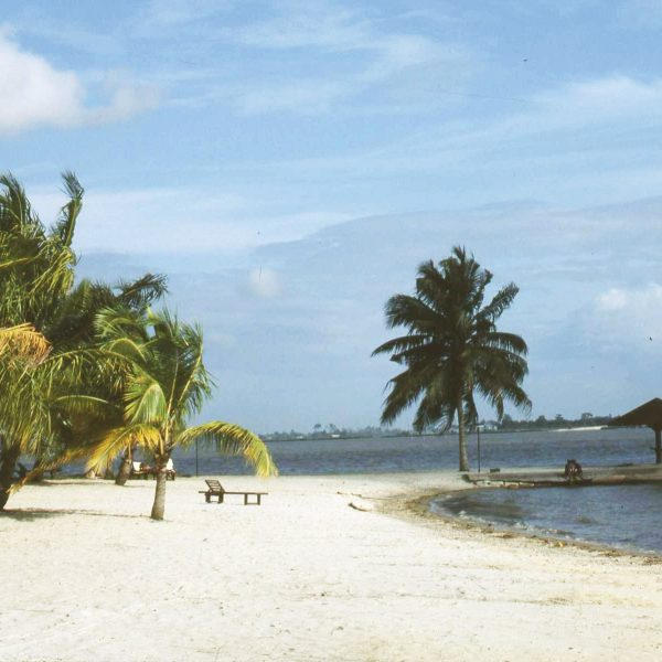A beach in Cocody