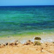 Beach south of Djibouti City