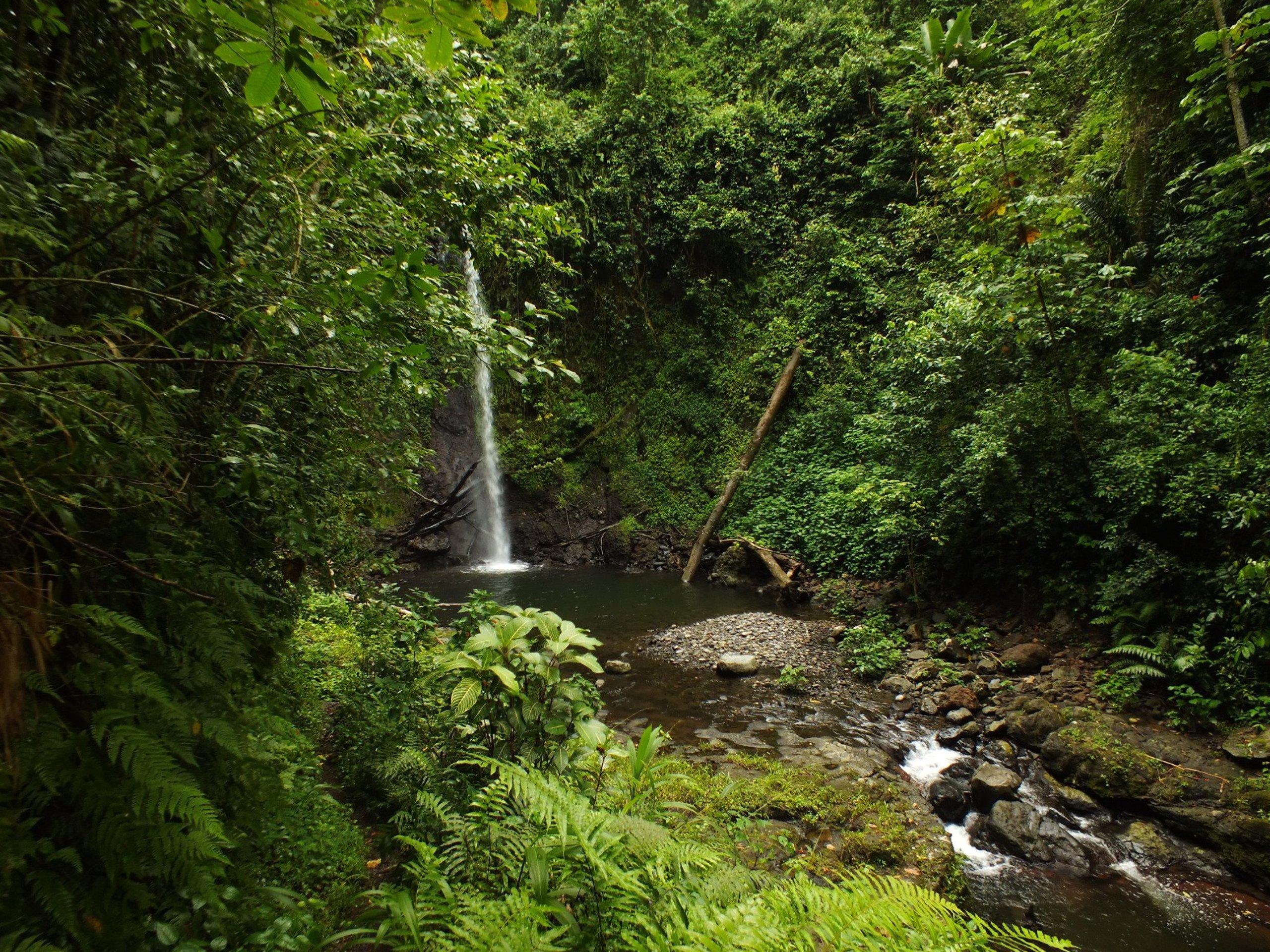 Bombaim Falls Sao Tome and Principe