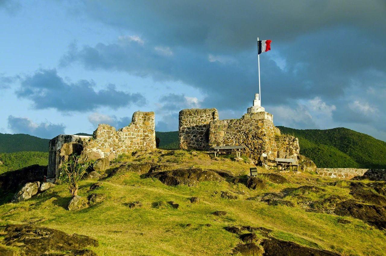 Fort Louis Saint Martin (France)