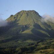 Hiking on Mount Pelée Martinique