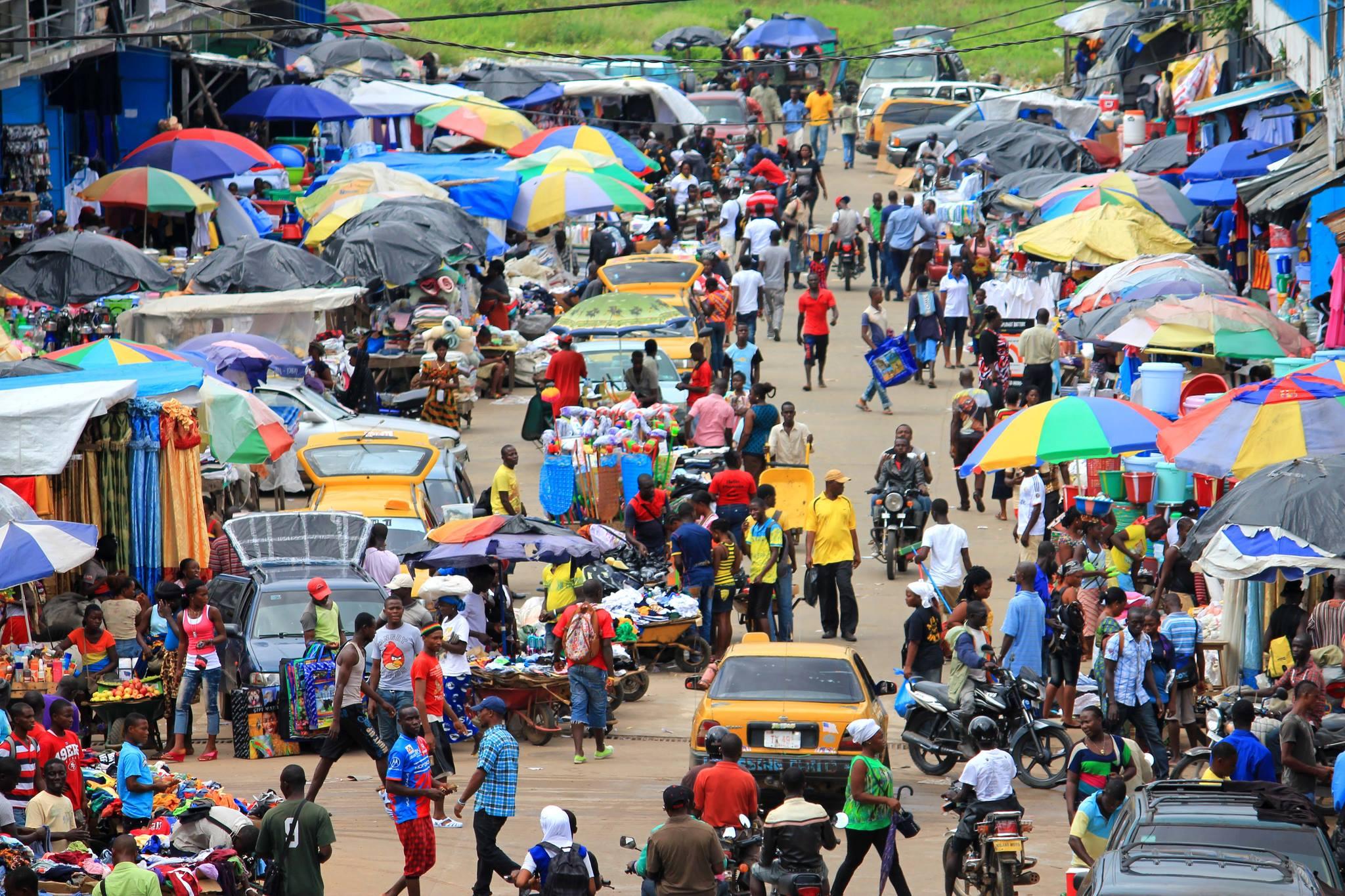 Liberian capital Monrovia