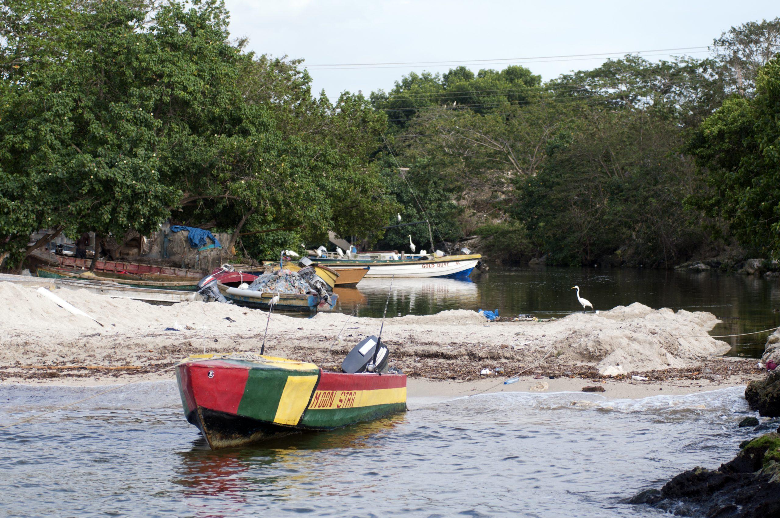 Negril fishing boats