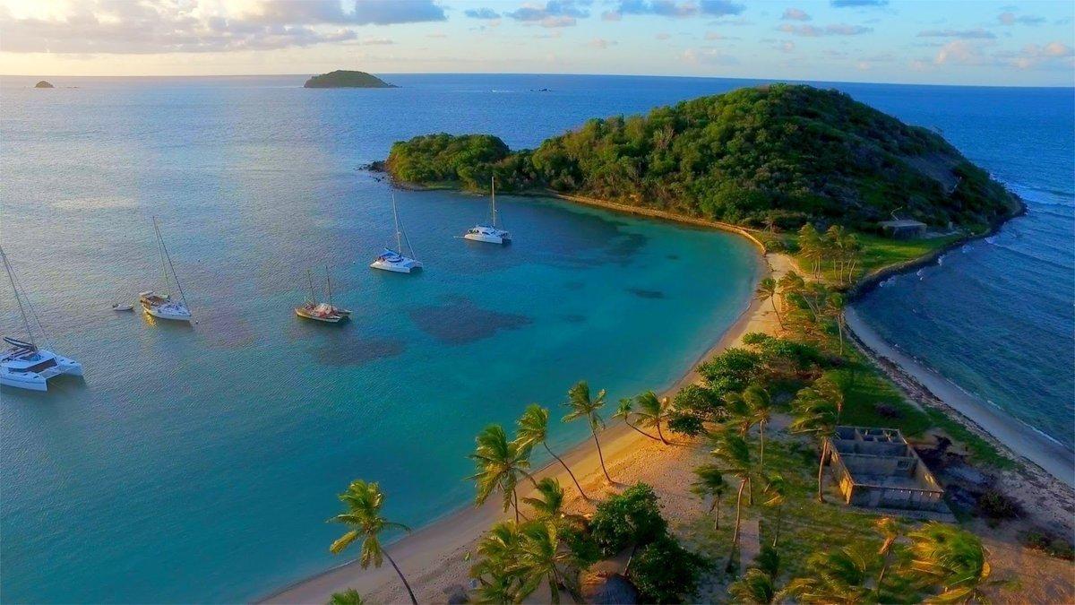 Salt Whistle Bay, Mayreau Saint Vincent and the Grenadines
