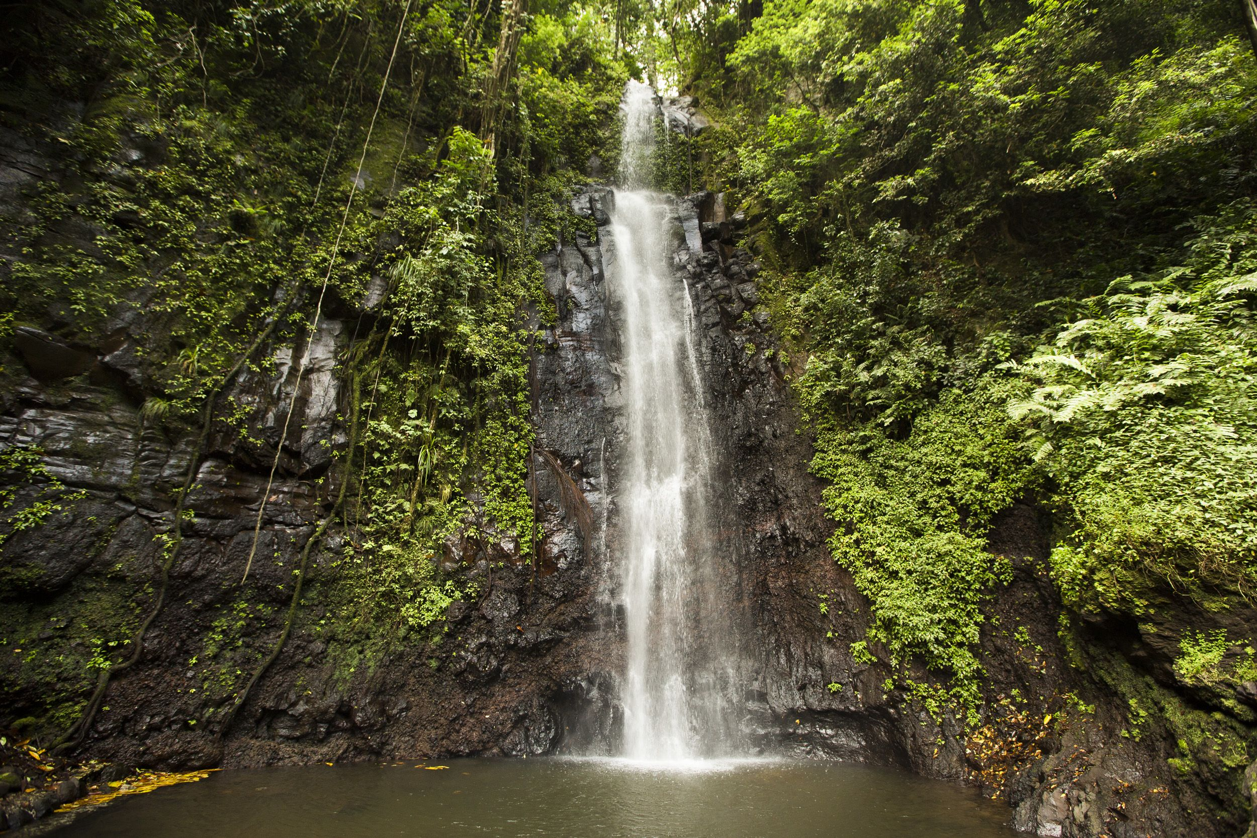 São Nicolau Falls Sao Tome and Principe