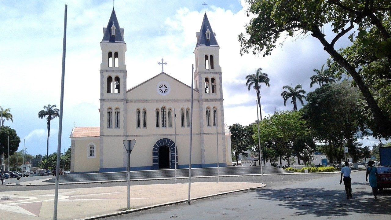 Sao Tomé Cathedral Sao Tome and Principe