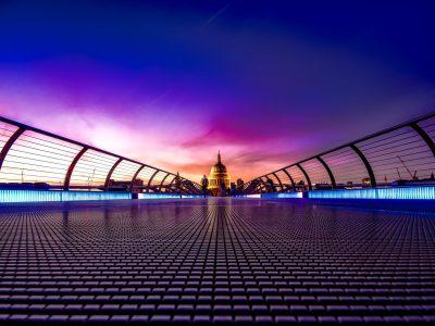 architecture bridge building city